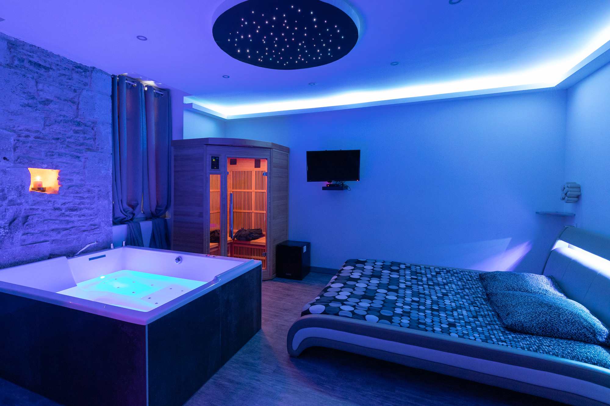 Appartement Cocooning Spa Spa Privatif A Dijon
